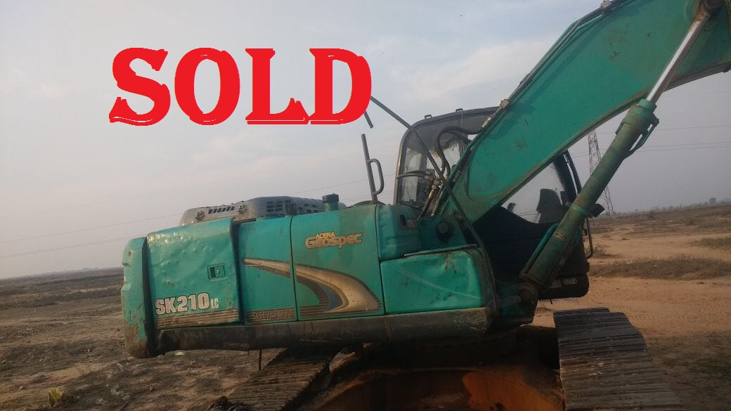 Excavator SK 210 Atlas MB 1500 Rock breaker(SOLD)