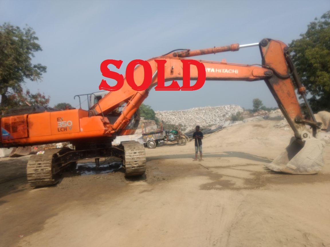 Excavator Ex 350(SOLD)