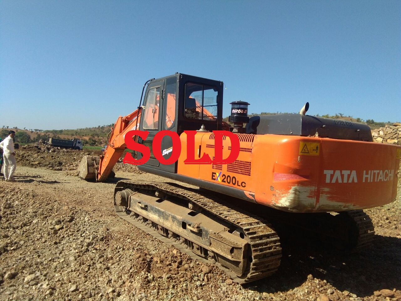 Excavator Ex.200 Super(SOLD)