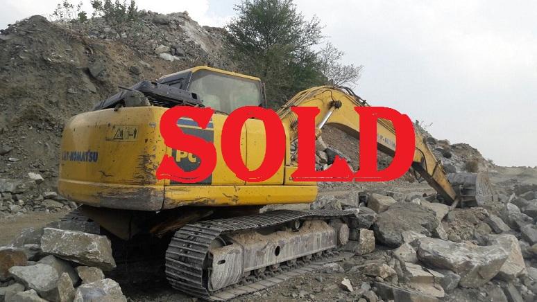 Excavator PC 130(SOLD)